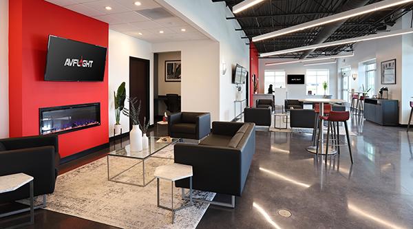 Modern, Spacious Lobby